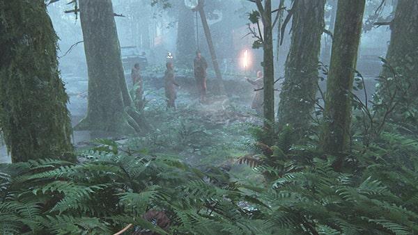 森でのセラファイトのシーン