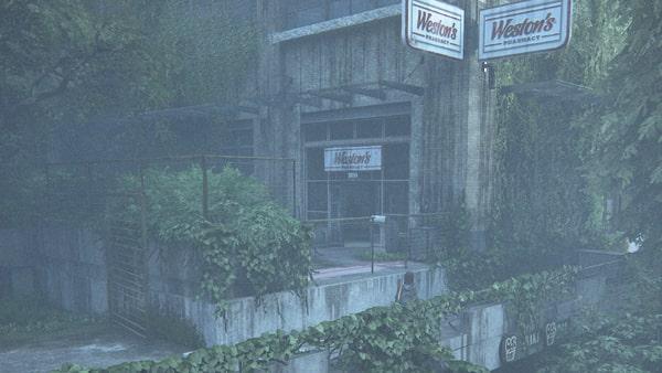 薬局の建物