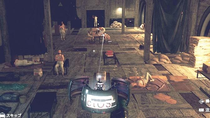 :サザーク焼却炉の解体シーン