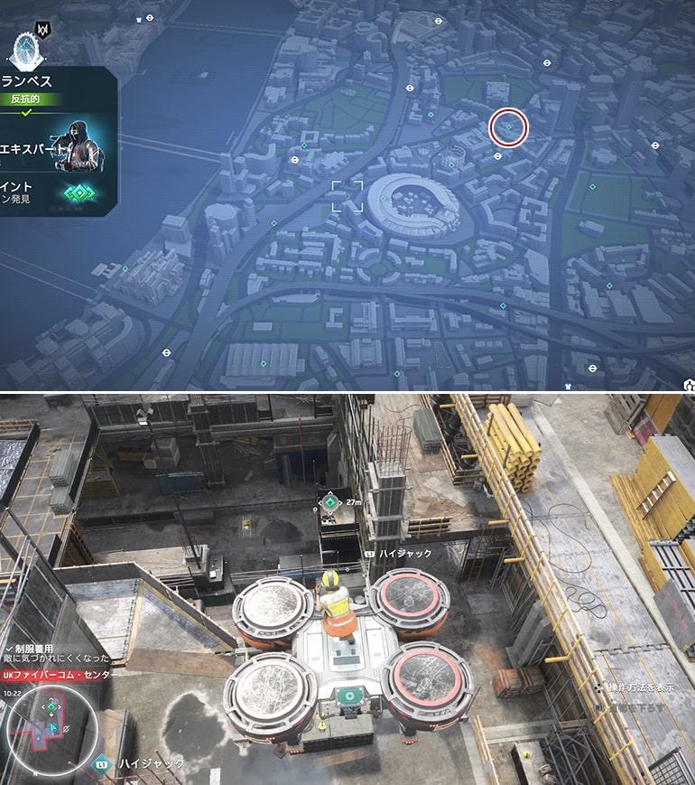 テックポイント場所のマップ - UKファイバーコム・センター