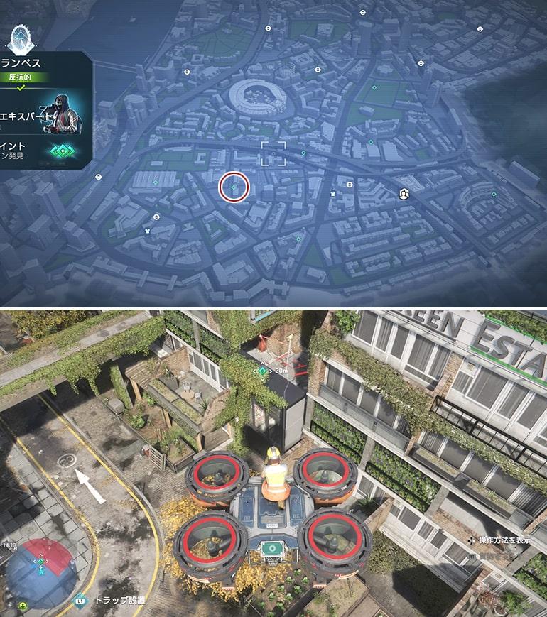 テックポイント場所のマップ - グリーン・エステート