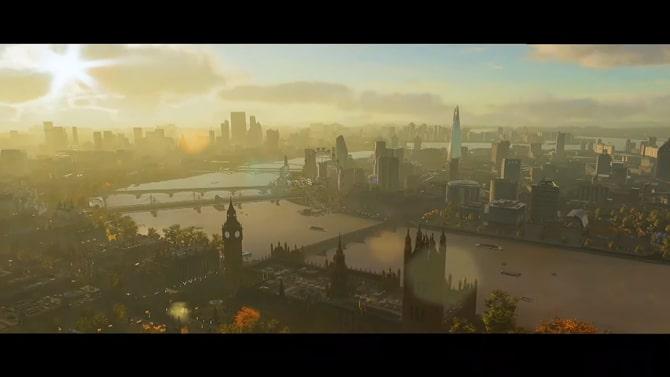 ウォッチドッグスレギオンの舞台のロンドン風景