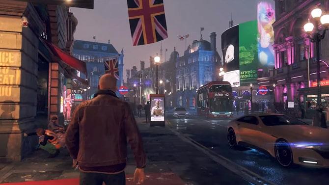 Watch Dogs Legionのゲームプレイ画像
