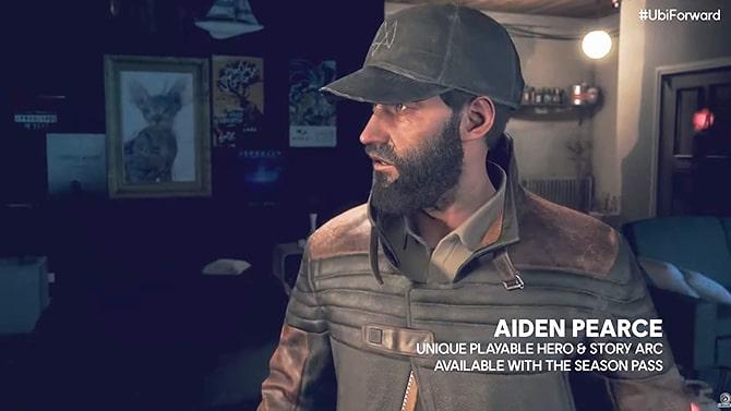 ストーリーDLCに登場するエイデン・ピアース