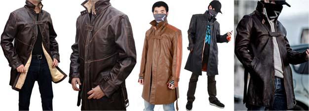 エイデン・ピアースのジャケット