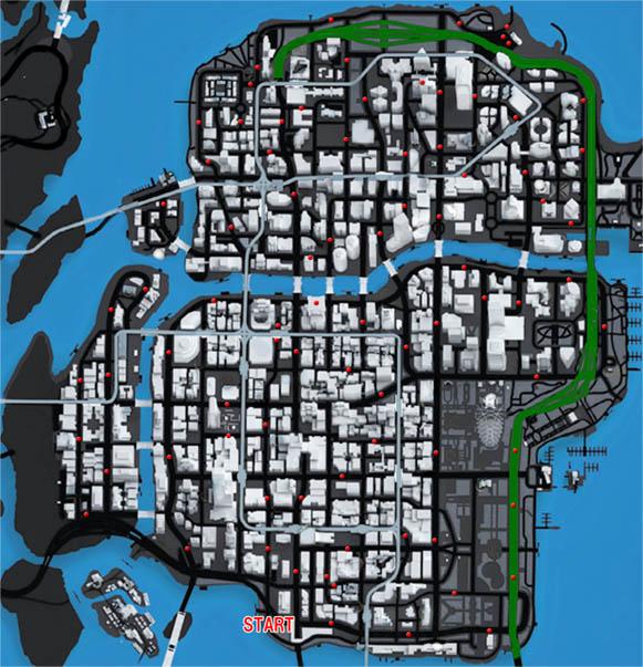 マッドネスのマップ