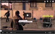 14分のゲームプレイ解説のデモ動画