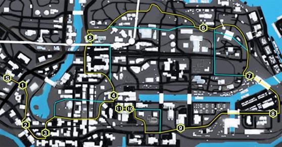 オープンロード(Open Road)のマップ