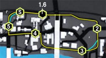 スラムランナーズ(Slum Runners)のマップ