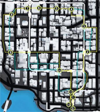 カッティング・コーナー(Cutting Corners)のマップ