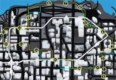 マッド・ストリート(Mad Streets)のマップ