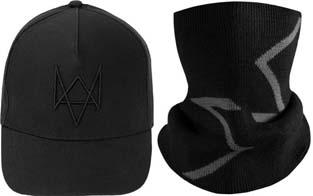 エイデン・ピアースの帽子、ネックスカーフ