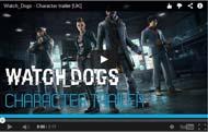 ウォッチドッグスに登場するキャラクター動画