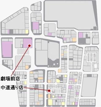 クラブセガの場所のマップ