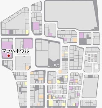 マッハボウルの場所のマップ