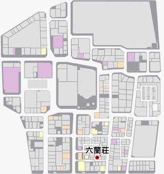 六蘭荘の場所のマップ