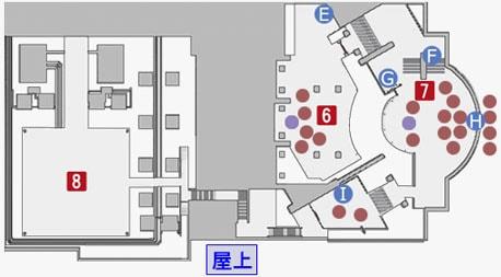 神宮京平とのバトルのマップ