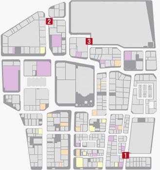 サブストーリーNo.31『ヤクザ志願者2』のマップ