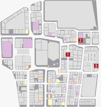 サブストーリーNo.32『ヤクザ志願者3』のマップ