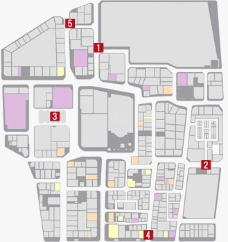 サブストーリーNo.37『ギャングバスターズ』のマップ