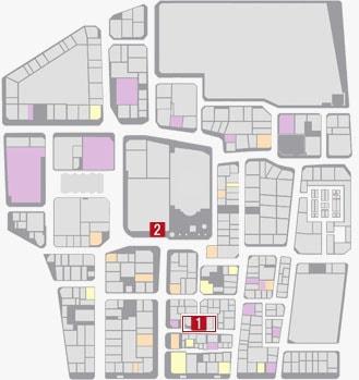 サブストーリーNo.43『ヤクザ逃亡』のマップ
