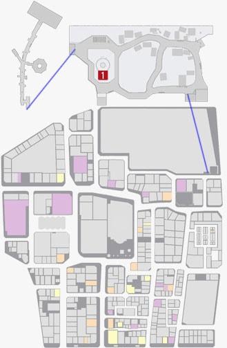 サブストーリーNo.50『ちょいワルおやじ』のマップ