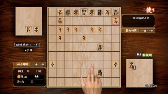 将棋をプレイする