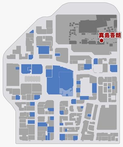 新・クランクリエイターを受けれる場所のマップ