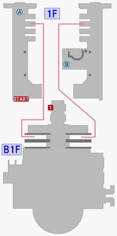 ミレニアムタワーのマップ