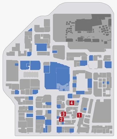 サブストーリーNo.12『神室町の切り裂き魔』のマップ