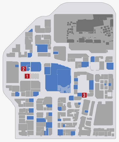 サブストーリーNo.17『ビームの謎』のマップ