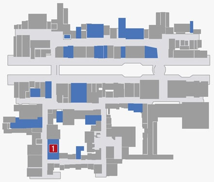 サブストーリーNo.21『麻雀』のマップ