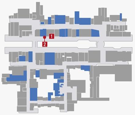 サブストーリーNo.54『記憶を失った男』のマップ