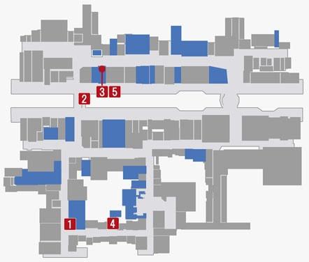 サブストーリーNo.55『任侠の夜』のマップ