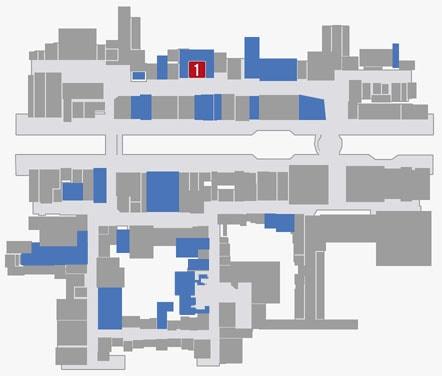サブストーリーNo.58『アルバトロス赤木のクラブ』のマップ
