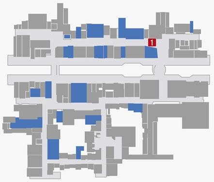 サブストーリーNo.60『蒼天堀の呼び込みと顔馴染み』のマップ