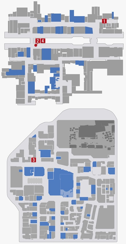 サブストーリーNo.62『白蓮師のお願い1』のマップ