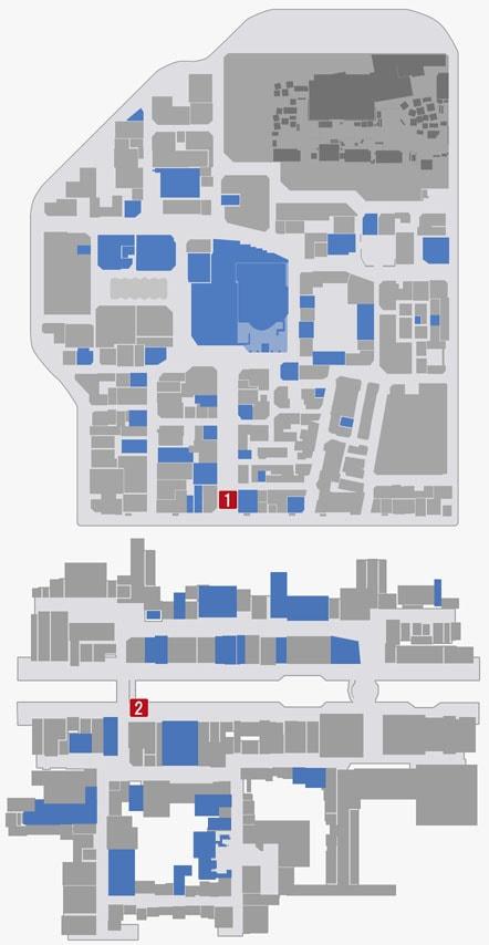 サブストーリーNo.64『白蓮師のお願い3』のマップ