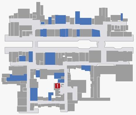 サブストーリーNo.71『お祭りクイーン・AIKA』のマップ