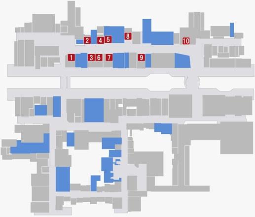 店舗提携のマップ