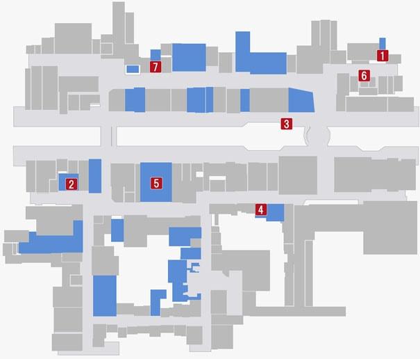 蒼天堀の販売店がある場所のマップ