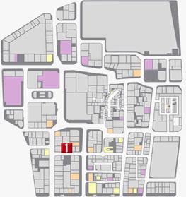 バッカスの居場所のマップ
