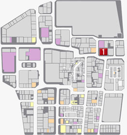 カモジの居場所のマップ
