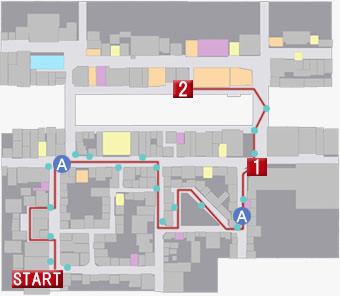エスコートバトルのマップ