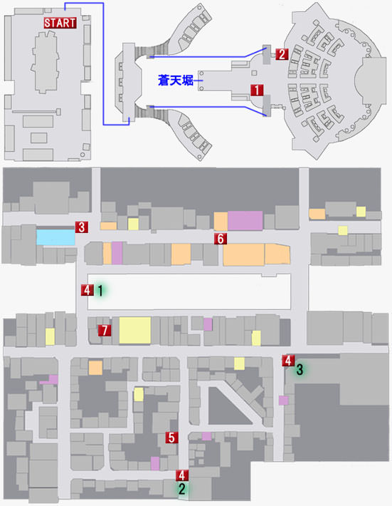 第三章 輝く監獄のマップ