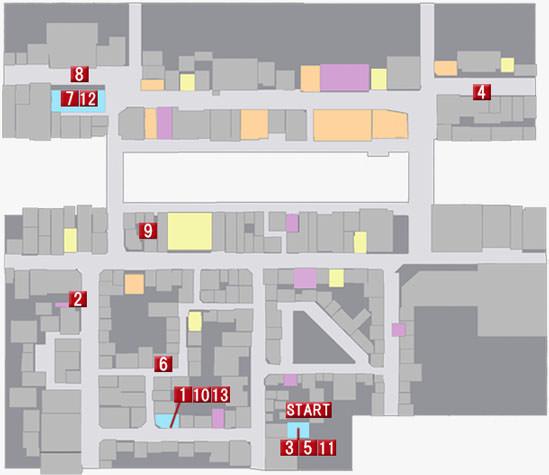 第七章 黒の流儀のマップ