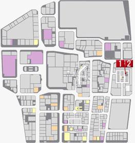 No.4『神室町の裏を探る男』のマップ