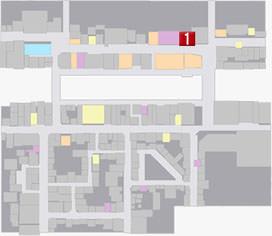 フェイフウの居場所のマップ