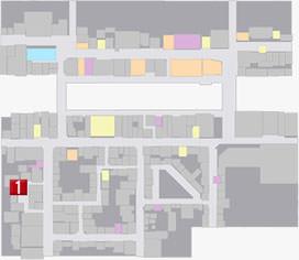 アレシの居場所のマップ