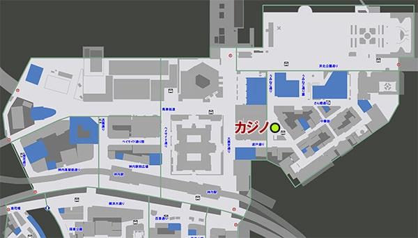 横浜のカジノの場所